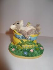 """""""One For Me� Charming Tails mouse & pea seed packet figurine Nib"""