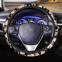Fashion Animal Pug Design Car Steering Wheel Cover Protector Auto Interior Women