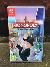 Monopoly EMPTY BOX ONLY Nintendo Switch Replacement Case