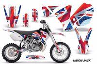 Dirt Bike Decal Graphics Kit Sticker Wrap For KTM SX65 SX 65 2002-2008 UNION JCK