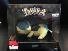 Pokemon Tomy Sleeping Cyndaquil Plush 8'' Toys R Us Exclusive New