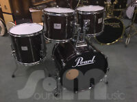 "Pearl CZX Studio Shell Kit 22"" 12"" 13"" 16"" Demo 