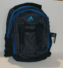 ADIDAS Atkins Backpack Boys Girls Children Unisex School Bag Black Gray Blue