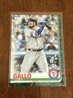 2019 Topps Walmart Holiday Baseball Metallic - Joey Gallo - Texas Rangers
