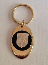 Pontiac Fiero Keychain Solid Brass key chain Personalized Free