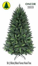 5ft Eco-Friendly Oncor Black Forest Christmas Tree
