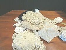 Vintage / Antique Collection of lace and trim sewing findings