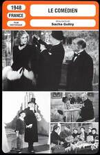 LE COMEDIEN - Guitry,Marconi (Fiche Cinéma) 1948 - The Private Life of an Actor