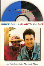 VINCE GILL & GLADYS KNIGHT - ain't nothin like CD SINGLE 2TR CARD 1994 Holland