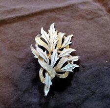 VIntage estate gold enamel pin/brooch COSTUME 1950s