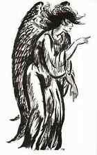 ENGEL der VERLEUMDUNG - Frans MASEREEL - L`ANGE de la MEDISANCE -  1947