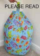COVER ONLY Childrens Character Telly Tubbie Beanbag - Soft Toy Storage Bedroom
