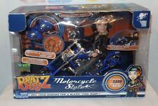 Collector's Bratz Boyz Motorcycle Style & Cade Doll with Sounds & Lights Nib