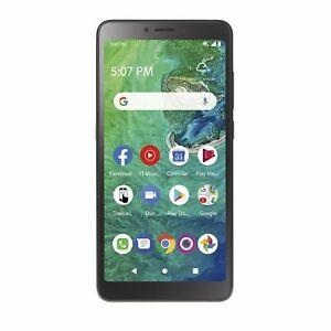 NEW - Tracfone Alcatel TCL A2, 32GB, Black - Prepaid Smartphone 4G LTE