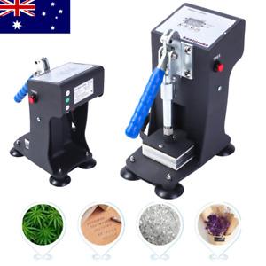 "Rosin Heat Press Machine 2""x3"" Manual Heating Plates Oil Extractor HP23C-X AU"