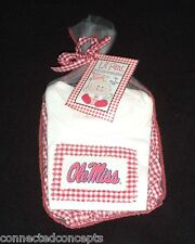 Lil Fans Mississippi/Ole Miss T-shirt & Bloomer Diaper Cover Set (SZ 6-9 Months)