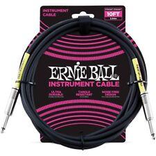 Ernie Ball 6048 Cavo per Strumenti nero mt 3