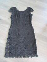 Cocktailkleid Kleid s.Oliver selection schwarz Gr. 36 S Spitze Sommer festlich