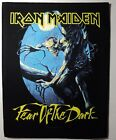 IRON MAIDEN FEAR OF THE DARK BACK PATCH