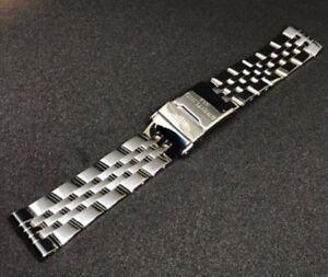 breitling bracelet  band stainless steel 20mm, 22mm, 24mm