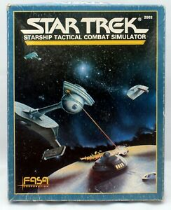 FASA Star Trek RP Starship Tactical Combat Simulator 1986 Game Rulebook #2003