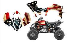 2014 - 2019 Yamaha YFZ450R 450SE graphics wrap kit American Tattered Flag
