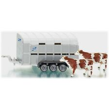 1:32 Siku IFOR-WILLIAMS Stock Trailer - 132 iforwilliams 2890 Vaches Ferme