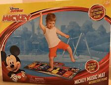 *NEW* Disney Junior Mickey Mouse Music Mat Interactive Floor Piano Kids *NEW*