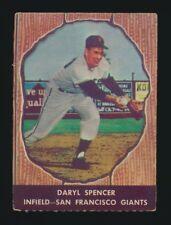 1958 Hires Root Beer #51 DARYL SPENCER (San Francisco Giants)