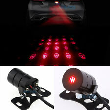 Skull Led Laser Fog Light Rear Anti-Collision Brake Tail lights Warning Lamp G