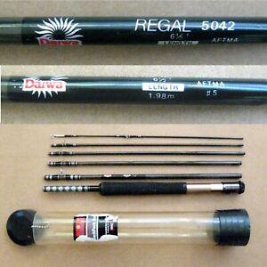 6-Piece 6.5' Daiwa Regal 5042 Backpack Fly Fishing Rod AFTMA for #5