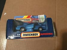 Vintage matchbox super kings Audi Quattro k-95 die cast