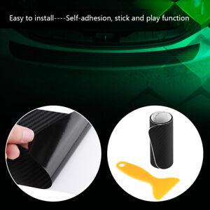 100cm * 9cm Self-adhesive Car Rear Bumper Protector Cover Sticker Decal Strip
