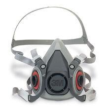 3M 6000 Series Half Mask Reusable Respirator Dust & Gas Mask - 6100 Small