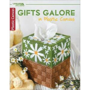 Leisure Arts Plastic Canvas Pattern Book - Gifts Galore
