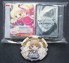 Milky Holmes Weiss Schwarz Demo Deck 50 Cards and Shiyoko Graduation Badge