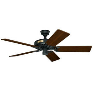 Traditional style indoor ceiling fan Hunter Classic Original Black 132cm / 52""