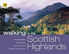 AA Walking in the Scottish Highlands (AA Walking in Series), , New Book