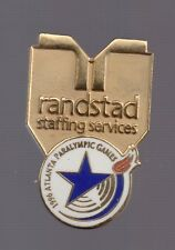 1996 Randstad Staffing Services Atlanta Olympic Pin Paralympic