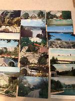 VINTAGE POSTCARDS EDEN PARK CINCINNATI OHIO 1907-1973 LOT OF 45