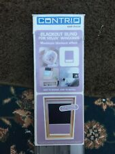 CONTRIO BLACKOUT ROLLER BLINDS / NEW / FITS VELUX, FAKRO, KEYLITE AND ROOFLITE