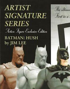 DC BATMAN: HUSH ACTION FIGURE 2004 RETAILER PROMO POSTER JIM LEE LIMITED EDITION