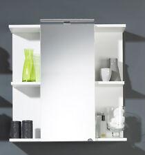 Badezimmerspiegel Spiegelschrank Badschrank Badregal Posseik 68 cm breit wei�Ÿ