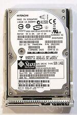 HDD Sun Hitachi 10K 146GB SAS with Caddy for Sun P/N 341-0586 Sunfire Sun Blade