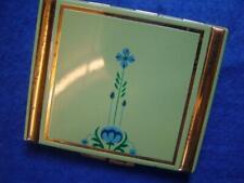 New listingVintage Art Nouveau Enamel Powder Compact, Unused.