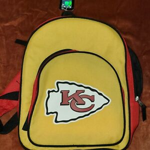 Kansas City Chiefs Mini Backpack Red And Yellow NFL brand NWT
