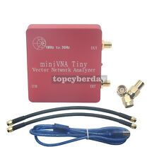 1M-3GHz Vector Antenna Network Analyzer Mini VNA Tiny+ VHF/UHF/NFC/RFID RF SWR/S