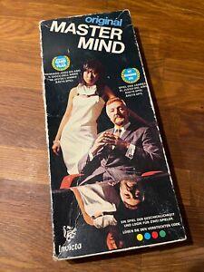 Invicta Original Mastermind 3016# Superhirn # Denkspiel Taktikspiel # 1972 70er