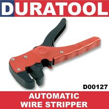 """DURATOOL Automatic Wire Stripper Cutter 7"""" D00127 for Electrical Electronics NEW"""
