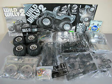 "New Tamiya R/C 1/10 Wild Willy 2000 wheelie Chrome Metallic Special ""No Box"""